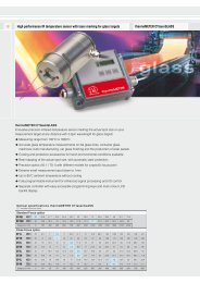 High performance IR temperature sensor with laser marking for ...