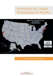 Promoção da Língua Portuguesa no Mundo - Fundação Luso ...