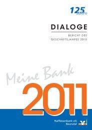 erfolgreich in 2010 - Raiffeisenbank eG Baunatal