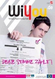 WiYou_2009-04_rz.qxd:Layout 1 - WiYou Thüringen - Ausbildung