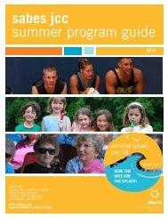summer program guide sabes jcc - Sabes Jewish Community Center
