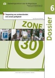 Toepassing van verkeersborden met zonale geldigheid ...