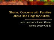 to view the powerpoint - Vermont Family Network