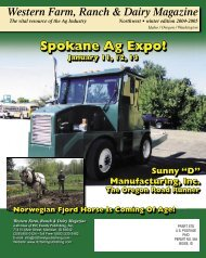 Spokane Ag Expo! - Ritz Family Publishing, Inc.