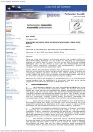 Council of Europe Parliamentary Assembly - Asquifyde