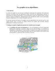 Les graphes et ses algorithmes - UQAC