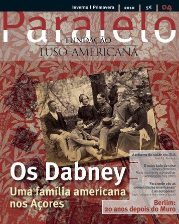 Inverno|Primavera 2010 - Fundação Luso-Americana