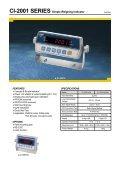 CI-1500 SERIES Weighing Indicator - KODA - Page 2
