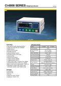 CI-1500 SERIES Weighing Indicator - KODA - Page 4