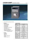 CI-1500 SERIES Weighing Indicator - KODA - Page 6