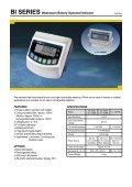 CI-1500 SERIES Weighing Indicator - KODA - Page 7