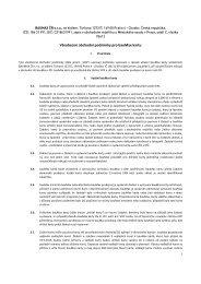 Všeobecné obchodní podmínky pro bauMax kartu (PDF)