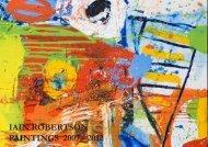 IAIN ROBERTSON PAINTINGS 2007 - 2012 - Abstract Critical