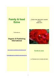 Family & food Ezine - Organic-E-Publishing-International