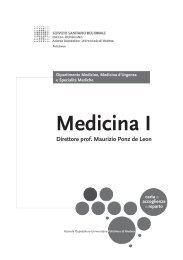 Medicina I - Policlinico di Modena
