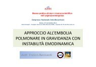 approccio all'embolia approccio all embolia polmonare in ... - Acemc.it
