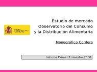 Monográfico Cordero. Observatorio del Consumo y la Distribución ...