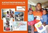 KatastrophEnhIlFE In haItI - World Vision