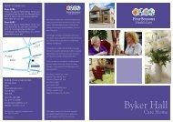 Byker Hall Brochure - Four Seasons Health Care