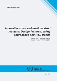 Innovative small and medium sized reactors ... - IAEA Publications