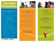 Community Connections brochure - YMCAs