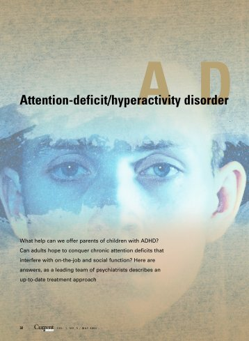 Attention-deficit/hyperactivity disorder - The Journal of Family Practice