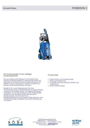 POSEIDON 3 - Robe Reinigungsmaschinen GmbH