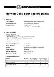 Metylan Colle pour papiers peints