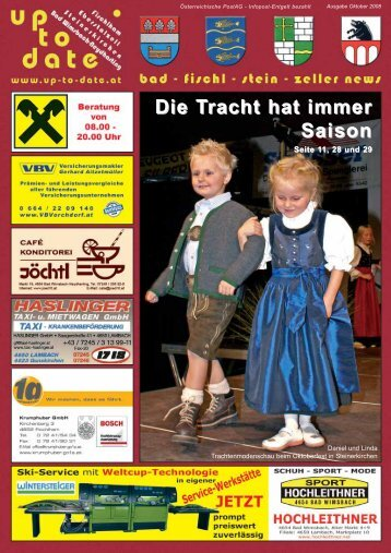 Die Tracht hat immer Saison - Up-to-date