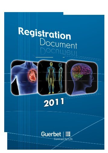 Registration Document Registration Document - Guerbet