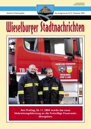 sprechtage – parteienverkehr – amtstage - Wieselburg