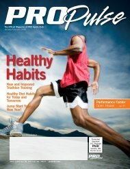 Jump Start Your New Year! Healthy Diet Habits ... - PRO Sports Club