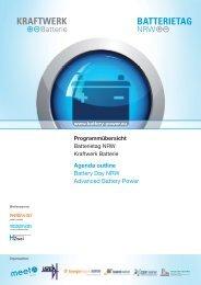 1.3.2011 - Kraftwerk Batterie