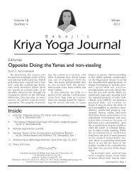 Download - Babaji's Kriya Yoga