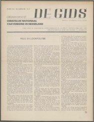 De Gids (1941) nr. 9 - Vakbeweging in de oorlog