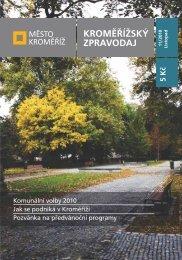 Vydání - 11 / 2010 - Město Kroměříž