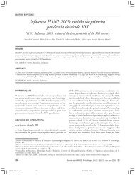 Influenza H1N1 2009: revisão da primeira pandemia do século XXI