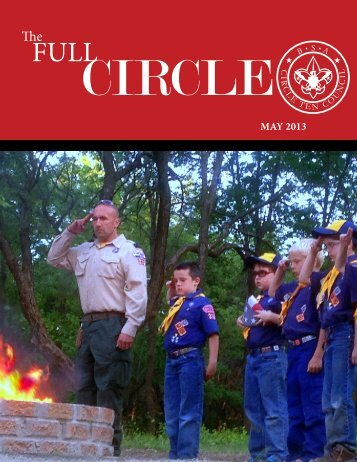 May 2013 newsletter - Circle Ten Council