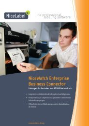 NiceWatch Enterprise Business Connector