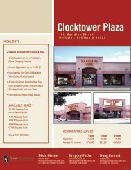 Clocktower Plaza - Prime Commercial, Inc