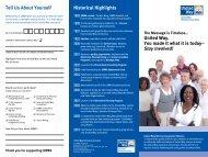 UWRA brochure - United Way Retirees Association