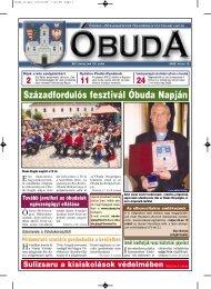 Századfordulós fesztivál Óbuda Napján - Óbuda-Békásmegyer