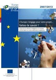 Charte de vos droits et obligations en matière - Europe