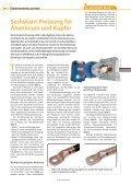 Sechskant-Pressung für Aluminium und Kupfer - Gustav Klauke GmbH - Seite 2