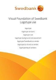 Usage of logotype - Swedbank