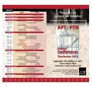 Partner Brochure - The Association For Preservation Technology ...