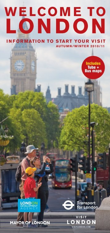 Welcome to London autumn 2010