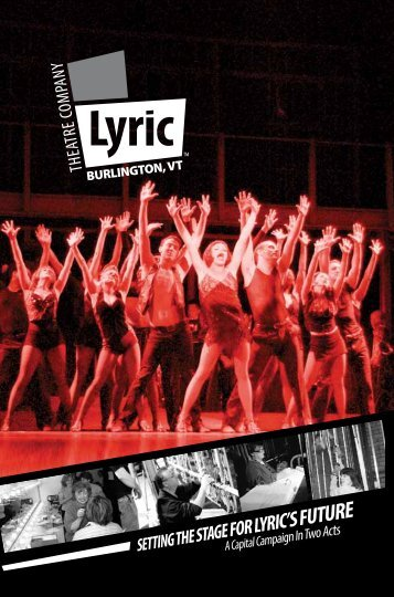Campaign Booklet - Lyric Theatre Company
