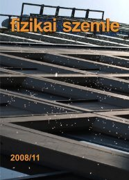 magyar fizikai folyóirat - Kfki