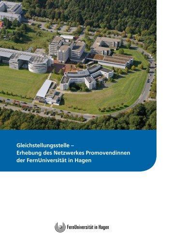 Erhebung des Netzwerkes Promovendinnen - FernUniversität in ...